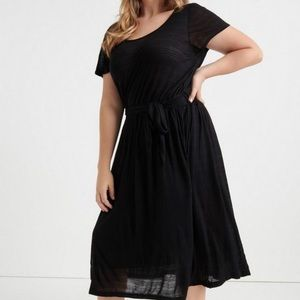 Lucky Brand 3x Black Dress - New with Tags